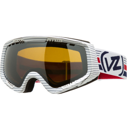 Ski The Von Zipper Feenom Goggle comes with a Bonus Lens to keep you riding in any conditions, from low light pow days and night park sessions to bluebird spring days. While they're busy shielding your eyes and keeping your view clear, these goggles also serve up s serious helping of style to keep you looking good. - $83.97