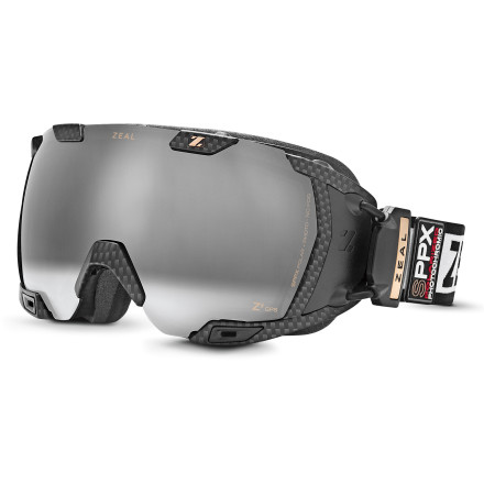 Ski There's no doubt that the Zeal Z3 Live Goggle is from the future. Just one of these features should should be enough to convince you: an integrated and digital heads-up display behind the lens, built-in GPS tracking, seamless smartphone integration to display notifications, photochromic tint that automatically adjusts to match light conditions, and a prime-quality lens handcrafted in Japan. This is the most high-end winter goggle ever offered by Zeal, and perhaps even the snow industry as a whole, hands-down. - $648.99