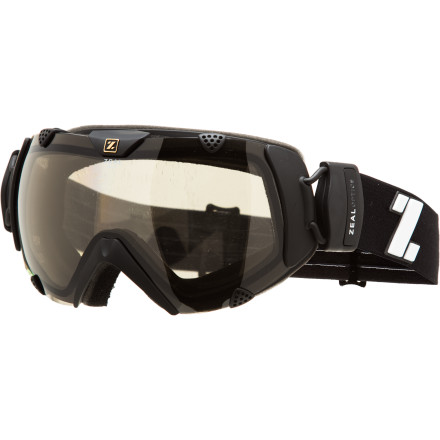 Ski The Zeal Optics Eclipse Goggle with Polarized Photochromic lens is smarter than you are'''it always knows which lens tint is right for the light. Photochromic technology allows the lens to automatically adjust its tint to match the light conditions, and the polarized lens coating takes the bite out of harmful glare. Drop into the park, some powder, or a few slackcountry runs while wearing this wide, comfortable goggle, and never look back. - $248.95