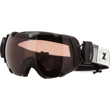 Ski The Zeal Optics Eclipse Goggle rocks a wide, polarized lens that crushes glare on the surface of the snow and gives you the superior peripheral vision you need to keep your eye on the mountain. Large top vents keep the lens of this winter goggle clear during hot slogs into the backcountry, and the in-molded strap attachment makes for a snug and comfortable fit over a hat or helmet anywhere. You might be tempted to swap your shades for the Eclipse goggle when summer rolls around, but we suggest you stick with sunglasses because a goggle might stand out on the beach in Costa. - $158.95
