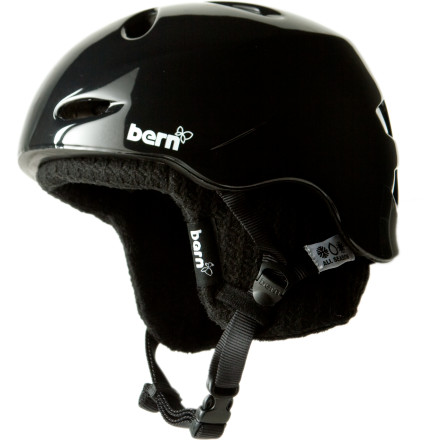 Ski Sooner or later, the law of averages says that you're going to take a spill, and a helmet can make the difference between providing your friends with a bit of entertainment and seriously injuring yourself. The Bern Women's Berkeley Zip Mold Helmet with Knit Liner throws out tough protection for your head, plus it dishes out plenty of style so you'll look good, too. - $60.47