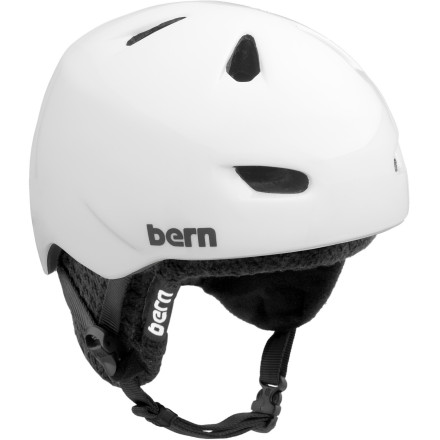 Ski Your head doesn't have to feel like a lead balloon just you're trying to keep it from getting dinged, dented, or scuffed. The Bern Brentwood Helmet features Bern's proprietary Zipmold construction for light weight and increased durability. The winter and summer liners mean you can sport the Brentwood for snow or skate, all year-round. - $74.96