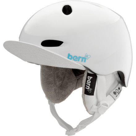 Ski What's the point of protecting your skull if you aren't having fun' You might as well just smack a tree and end it, right' The Bern Berkeley Audio Zip Mold Helmet ensures good times for all with built-in headphones so you can hook into your MP3 player, and the tough polycarbonate shell makes sure the good times don't come to a violent, unplanned end. - $89.96