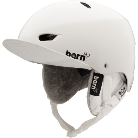 Ski The real beauty of Bern helmets is the beauty of Bern helmets. Bern's liners are also a beautiful thing. The removable Brighton EPS Audio Liner insulates, looks good, and lets you listen to your favorite music without having to cram annoying earbuds in your ears. - $77.97