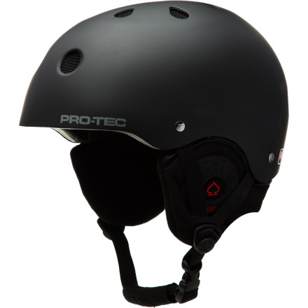 Ski Look familiar' The Pro-tec Classic Snow Audio Helmet is the original, certified helmet for snow, skate, and bike. Amp-lify your fun by plugging your tunes into the included Audio Force headphones. - $62.97