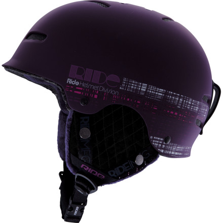 Ski The Ride Women's Vogue Helmet will take care of your delicate melon without slaying your wallet in one fell swoop. But don't think that the Vogue is a stripped-down, bare-bones helmet. It has all you need to stay comfortable, like passive venting and removable ear pads, and nothing you don't, like a stuffed, mounted caribou head or an on-board mustard dispenser. - $59.96