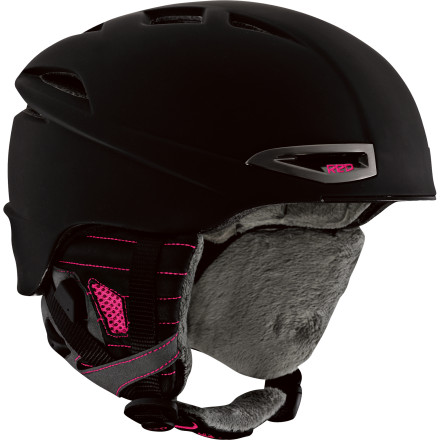 Ski The RED Women's Drift helmet offers a fit so seamless and comfortable that you'll forget you're wearing a helmet altogether. RED outfitted this lightweight ski and snowboarding lid with fully adjustable vents, a toasty-warm fleece liner, audio compatibility, and a clever fit system that uses an internal headband filled with air. - $89.97
