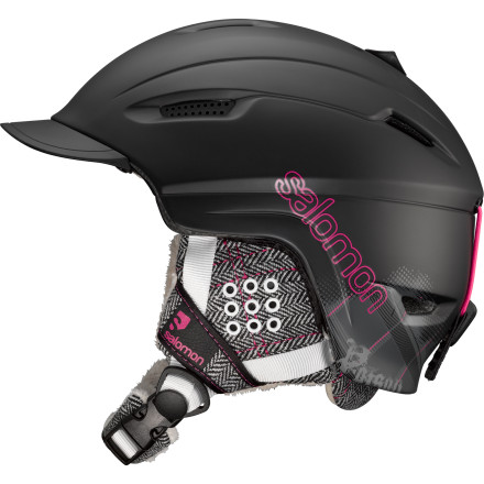 Ski More than just a good-looking helmet, the Salomon Women's Poison Helmet addresses real-world issues that we haven't seen addressed before. What about long hair and pony tails' What if I want to wear a beanie under my helmet because it's warm or just plain stylish' Salomon has the answers. The Poison helmet has a specially shaped shell the fits your pony tail perfectly and a beanie-compatible liner that allows you to wear your beanie under the helmet without compromising safety. - $71.97