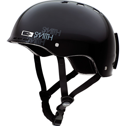 Ski Pissed that you have to have a helmet for skating, one for BMX, and another for throwing down on your full-suspension unicycle' Smith solved that problem with the Holt Park Helmet. Lightweight and up-to-snuff on all the safety standards a helmet should meet, this minimalist lid offers plenty of protection without making you look like a dashboard bobblehead. - $26.98
