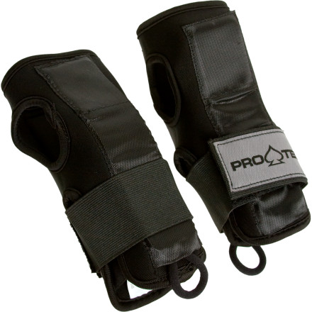 Ski Broken wrists suckplain and simple. Put an end to the suck with the added support of Pro-tec IPS Wrist Pads. This piece of snowboard safety gear fits under most gloves, and still allows you to move your hands freely for strapping in or unzipping your jacket. The IPS Wrist guard's splints are removable, so you can vary the amount of support depending on your needs. - $13.97