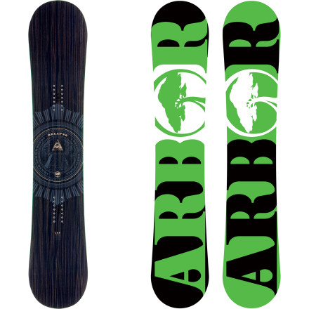 Snowboard If you're a park and freestyle fiend but prefer the control and snap of a traditional camber design, the Arbor Relapse Snowboard will take your addiction to the next level. A true-twin, mid-wide shape accommodates bigger boot sizes and offers a predictable feel during switch takeoffs and landings. The medium-soft flex lets you ride away from those not-so-stomped tricks, with more than enough pop to boost big on kickers, quarters, and natural hits. - $239.97