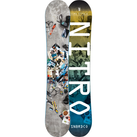 Snowboard Just like Eero himself, the Nitro Eero Etalla Snowboard handles business on every type of terrain from tech street rails to backcountry lines. High-end construction, a  snappy standard camber profile, and a directional twin shape make Eero's board both lightweight and tough as hell for stomping tricks in any situation. - $329.97