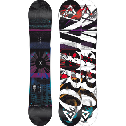 Snowboard Nitro takes their tried-and-true Team Series recipe and spices it up with the hybrid Gullwing camber to create the Team Series Gullwing Snowboarda versatile all-mountain freestyle ripper with a slightly floatier, more forgiving feel than the original full-camber design. - $287.97