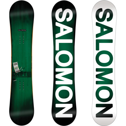 Snowboard The Salomon Drift Rocker Snowboard loves the terrain park. That's where it wants to be. From its Pres-Sure Rocker profile to its Aspen Strong construction and dedicated Freestyle Edge Bevel, the Drift Rocker is built to play. - $209.94