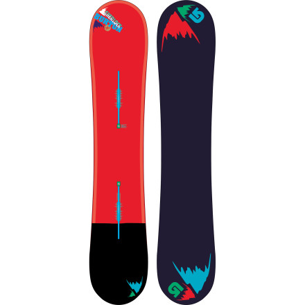 Snowboard The Burton Sherlock Wide Snowboard will close the case on your missing powder slashes and pillow-line dropping with a little help from Flying V Rocker, Frostbite edges, and Squeezebox technology. - $299.97