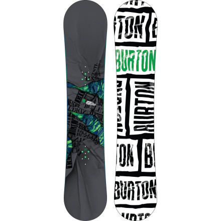 Snowboard Built for big-footers looking to push their limits, the Burton Bullet Wide Snowboard makes it easier than ever to get better at snowboarding. With an EZ-V rocker shape and Cruise Control edge tune designed to all but eliminate those painful edge-catch slams, the Bullet turns the snowboard learning curve into a, uh, learning trapezoid or something. - $209.97