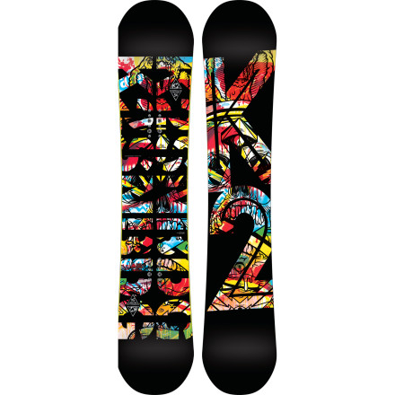 Snowboard Built for the big-footed rider looking to dominate the park and take his skills to the rest of the mountain, the K2 Parkstar Wide takes on big jumps while embracing big feet. - $275.97