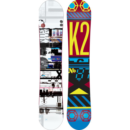 Snowboard You know what they say about riders with big feet' Well, results may vary depending on who you ask, but if you're asking the K2 Raygun Wide Snowboard, it will spill all the juicy details on how it puts out high-performance freestyle fun for any big-footed fella willing to take for a spin anywhere on the mountain. From jibbing and jumping in the park, to dragging knuckles through pow, to ripping up the corduroy, the Raygun is sure to blow your mind. - $251.97