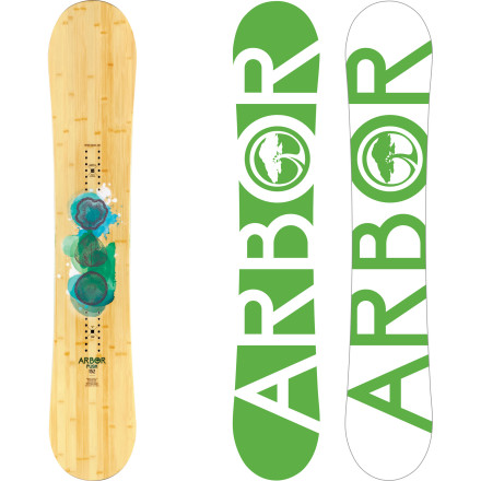 Snowboard With a snappy traditional camber profile, moderate flex, and slightly set-back directional shape, the Arbor Push Snowboard is a hard-charging girl's best friend. Stable enough to blast through leftover chop yet playful enough to float a backside 3 off your favorite park jump, the Push defines the term 'all-mountain'. - $275.97