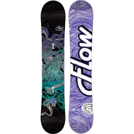 Snowboard The soft, forgiving Flow Women's Venus Snowboard incorporates a ton of technology to take your riding to the next level. Designed to conquer the entire mountain, the Venus is just as happy in the park as it is on high-speed groomers, choppy snow, and waist deep blower. - $173.99