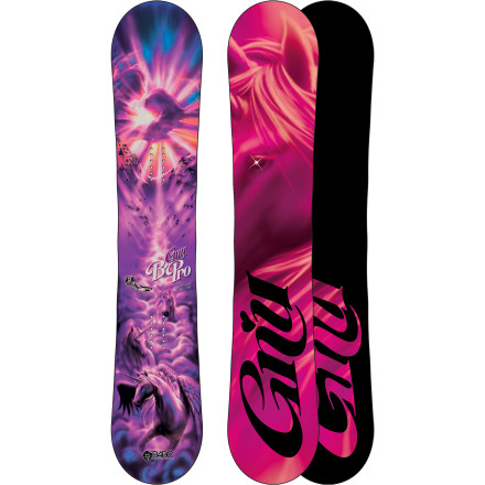 Snowboard The Gnu B-Pro C2-BTX Women's Snowboard was delivered to womankind when the sky burst open and a herd of epicorns descended with the B-Pro in tow. This hand-crafted and award-winning board was handed to Barrett Christy (the 'B' behind B-Pro) and she shortly tamed this banana and camber combo-platter capable of all-mountain freestyle fun and hard-charging freeriding. Now it is your turn to ride this magical beast in pursuit of powder, park hits, and speed. - $329.97
