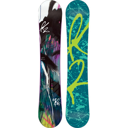 Snowboard The K2 Women's Eco Lite Snowboard brings K2's nastiest snowboard technologies to the all-mountain crowd. The Eco Lite's All-Terrain Rocker adds float on deep days, carves like camber on the hard pack, and forgives-and-forgets when you don't stick a landing exactly straight. Super-tough Bambooyah construction can handle anything in-bounds and won't get spongy in one season, and Harshmellow absorbs vibration and impacts so you don't get spongy, either. - $335.83