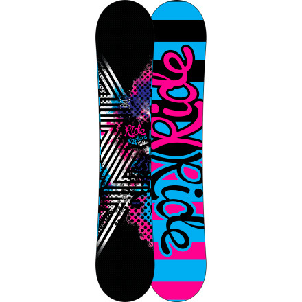 Snowboard Get swept off your feet with the Ride Women's Rapture Snowboard. The Rapture is a soft- to medium-flexing twin that's geared toward progression without punishment. The Rapture features the freestyle-focused LowRize rocker profile for easy turning and extra fun in the soft stuff. - $191.97