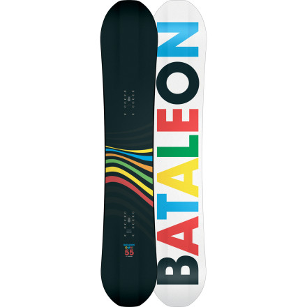 Snowboard You'll need a special key to enter the white room. The Bataleon Omni Freeride Snowboard will get you in every time. Bataleon gave the Omni a long nose for added flotation in the deep stuff and added Backseat Inserts that allow you to set your stance way back to ride flat in powder. Riding flat in powder means more control and less fatigue. Translation: more fun. - $359.96