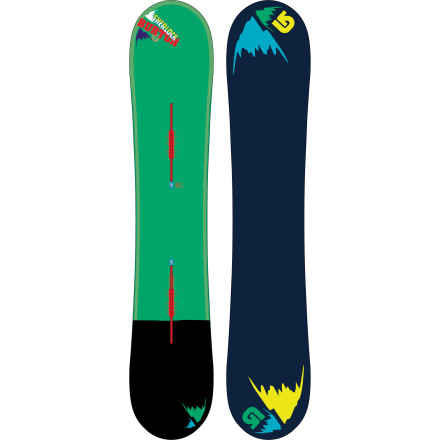 Snowboard The Burton Sherlock Snowboard combines a snappy yet stompable flex with a twin-like shape built to get buck wild in the pow. The float-enhancing Side Effects and Flying V rocker profile keep you surfing on top of the deep, while Frostbite edges and Smooth Ride shock absorption make short work of chopped-up run-outs and hard-packed groomer laps. - $299.97