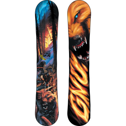 Snowboard In the steep slopes, in the trees, a mutant-beast dwellsthe Gnu Billy Goat C2-BTX Snowboard. This snarling all-mountain animal foams at the mouth when it spots steep terrain populated with pillow lines, chutes, and cliffs. With Magnetraction edges acting as its unprincipled claws, the Billy Goat traverses and steers its way across unpredictable snow with unwavering control and precision. From frolicking about to pouncing on powder and oversized man-made features, the C2-BTX camber and rocker profile fuses freestyle and freeride geometry so you can ride this beast to any realm you wish. - $323.97