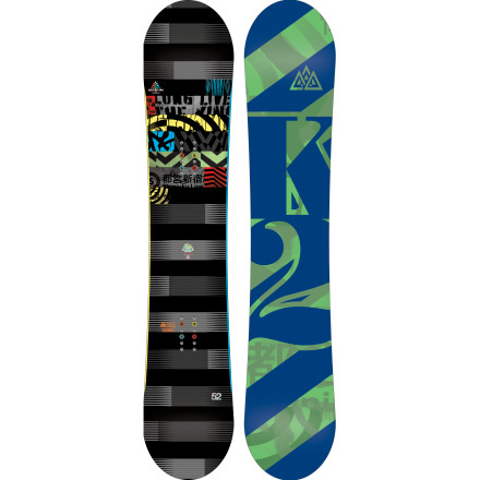 Snowboard It's no accident that the K2 Lifelike Snowboard packs a grip of  rider-friendly features like the wicked-light Hybritaper core profiling, K2 team-favorite Flatline shape, and ollie- (and nollie-) enhancing Carbon Web matrix. These features have not only been asked for by name but have also been developed closely with the athletes who are pushing the sport. - $257.97