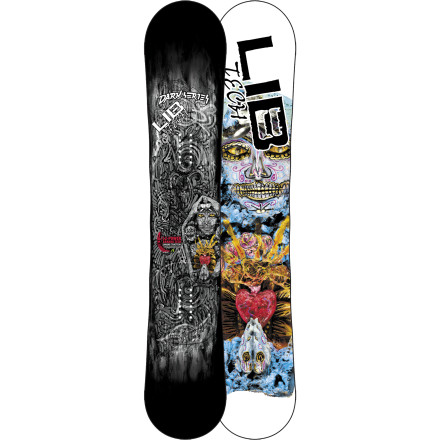 Snowboard The C2BTX Lib Tech Dark Series Snowboard doesn't discriminate. It shreds the entire mountain with reckless abandon with a little help from 3-D Bamboo Org Throttle and Power Transfer Spine Technolgy, which add ridiculous power and pop to its already ridiculous power and pop. - $399.60