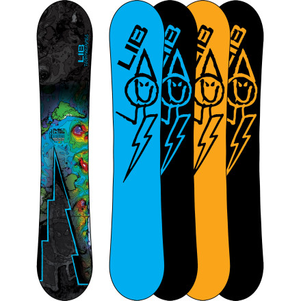 Snowboard Built to smooth the transition from neck-deep powder poacher to hardpack slasher, the Lib Tech La Nina MC C1BTX Snowboard uses Lib Tech's C1 Banana Camber Combo for a combination of flotation and carvability found nowhere else. - $341.97