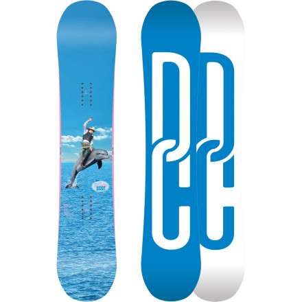 Snowboard The Biddy Snowboard is DC's ultimate women's go-anywhere tool. The Anti-Camber Profile is at home in deep powder as it is in the terrain park, and Cambercore construction gives the Biddy tons of pop. - $210.00