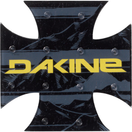 Snowboard The DAKINE X-Mat Stomp Pad marks the spot where you should place your back foot when you get off the chairlift, thereby reducing the chance of making a complete ass of yourself. Stick this thin DAKINE stomp pad on your snowboard, and go. - $4.77