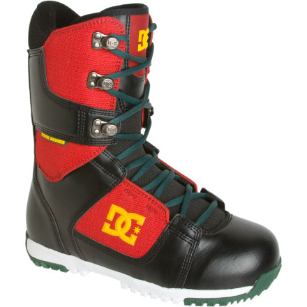 Snowboard You have searched high and low for a boot that's flexible enough to butter and press through the park but still has the support to not fold your ankles as soon as you touchdown on the landing of a kicker. The DC Park Boot has seen your smoke signals and is here to answer the call. The Park Boot's Park Bravo liner features a neoprene ankle harness and anatomical J-Bars provides a freestyle specific articulation with a liner height similar to your favorite pair of high tops. - $100.00