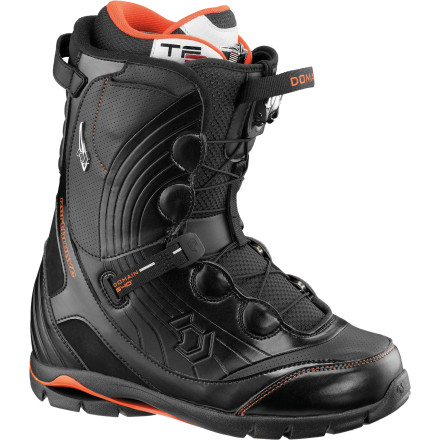 Snowboard The Northwave Domain SL Men's Snowboard Boot was made to conquer any spine, chute, cliff, or pillow the mountains have to offer. The shell is reinforced with a carbon structure for the support needed to stomp huge cliffs and the response you need to make split-second decisions in hairy situations. Plus, it has Vibram rubber inserts on the sole for extra grip on the sketchy hike to the top of your line. - $181.27