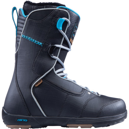 Snowboard More than one Ride pro runs the Deuce Lace Snowboard Boot, and it's easy to see why. Lightweight construction, a freestyle-friendly flex, and awesome heel-hold add up to a great-fitting boot that's all business. - $99.98