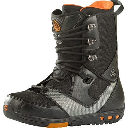 Snowboard Secure your foot like a con in a state penitentiary with the Rome Folsom Men's Snowboard Boot. The Conformist.3 liner features Quadzone lining for an ergonomic fit, and the Leverage lacing system keeps your heel locked down to reduce fatigue and improve response and control. - $167.97