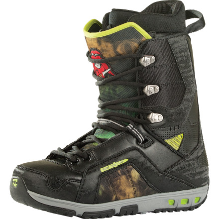 Snowboard The Rome Libertine Boot provides the shock absorption to stomp every flat landing in the terrain park and the freedom to crush the rest of the mountain the very next run. A true medium flex boot, the Libertine slays everything form the pipe to the backcountry with equal reckless abandon. - $143.97