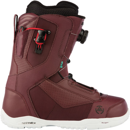Snowboard Conquering the mountain shouldn't mean you have to sacrifice your feet. The K2 Ryker Boa Snowboard Boot pampers your stompers with the help of the intuition liner and the featherweight Phy-Light outsole. - $131.97