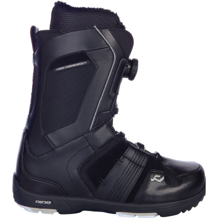 Snowboard Ride Jackson Boa Coiler Snowboard Boot would now like to dispel the rumor that feet capable of intermediate to advanced all-mountain crushing have to be stuffed into an unforgiving boot just to gain support. Luxury meets performance in this versatile boot thanks to Boa Coiler closure, Intuition Support Foam Liner, and the superior heel-hold of internal and external J-bars. - $137.97