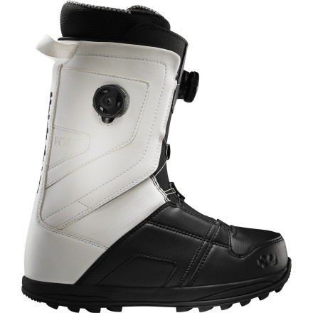 Snowboard Thirty Two basically took their bestselling Lashed boot and added dual Boa coils to it to create the Binary Snowboard Boot. It doesn't matter if you have chicken legs and fat feet, cankles and skinny feet, or anything in between, because the two dials allow you to independently loosen and tighten the upper and lower of the boot so you can get the fit just right for you. - $174.97