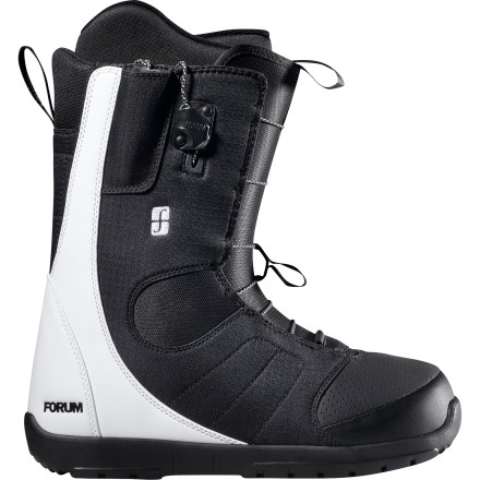 Snowboard Get all the freestyle flex you need with the Forum Musket Snowboard Boot. Tweaker construction gives you a whole new level of flexibility for super-tweaked methods and boned-out blunts. - $89.98