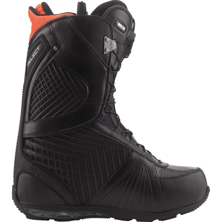 Snowboard The Nitro Select TLS Snowboard Boot offers precision response and all-day comfort for riders who prefer a quick-reacting, supportive boot. The removable tongue stiffener lets you fine-tune the boot's flex to match your riding style, while the Reducer integrated liner and shell system allows a low-pro design with minimal bulk. - $209.97