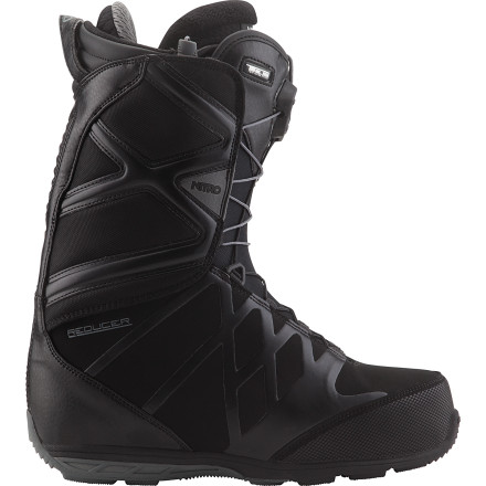 Snowboard Had enough with bulky boots that look and feel like space-program rejects' The Nitro Reducer TLS Snowboard Boot features a volume-reducing integrated shell and liner construction for a lightweight, solid-fitting boot that handles business all over the hill. - $155.97