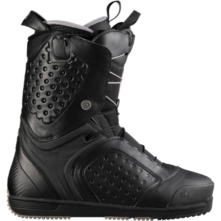 Snowboard Salomon packed the pledge snowboard Boot with features to take it to the next level of park and pipe performance. A mid-stiff flex combined with uncompromising comfort and ease of use put the Pledge at the tippy-top of the freestyle boot food chain. - $209.94