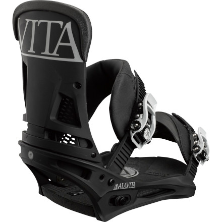 Snowboard The Malavita Re:Flex Snowboard Binding has taken over as Burton's all-around freestyle killer, and it doesn't take a rocket surgeon to see why. The feel-enhancing Re:Flex baseplate and hinged disc design let you experience your snowboard's flex like never before, while the AutoCANT cushioning system naturally aligns your lower body for reduced knee strain and better control, no matter how you prefer to set up your stance. - $181.97