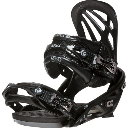 Snowboard Through constant tweaks, improvements, and overhauls over the past two decades, the Flux DS30 Snowboard Binding has held its top-of-the-foodchain spot in Flux's line-up of freestyle-driven bindings. That means it has not only survived trends, but helped to set them. The DS30 features the all-new Ultima FS highback that gives the binding an unmatched soft and anatomical feel, in addition to the Absolute Fit FS strap system that delivers featherweight response for non-stop park laps. - $158.97