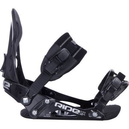 Snowboard The Ride LX Snowboard Binding delivers reliable support and all-day comfort ideal for progressing ridersbecause when you're trying to learn how to link turns, the last thing you need is achy feet and sore calves. - $83.97